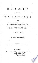 hume essays and treatises on several subjects Hume first published a set of essays and treatises on several subjects in 1753 it was a four-volume set containing (in this order) the essays, moral and political , the first enquiry , the second enquiry , and the political discourses.