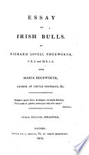 essay on irish bulls edgeworth